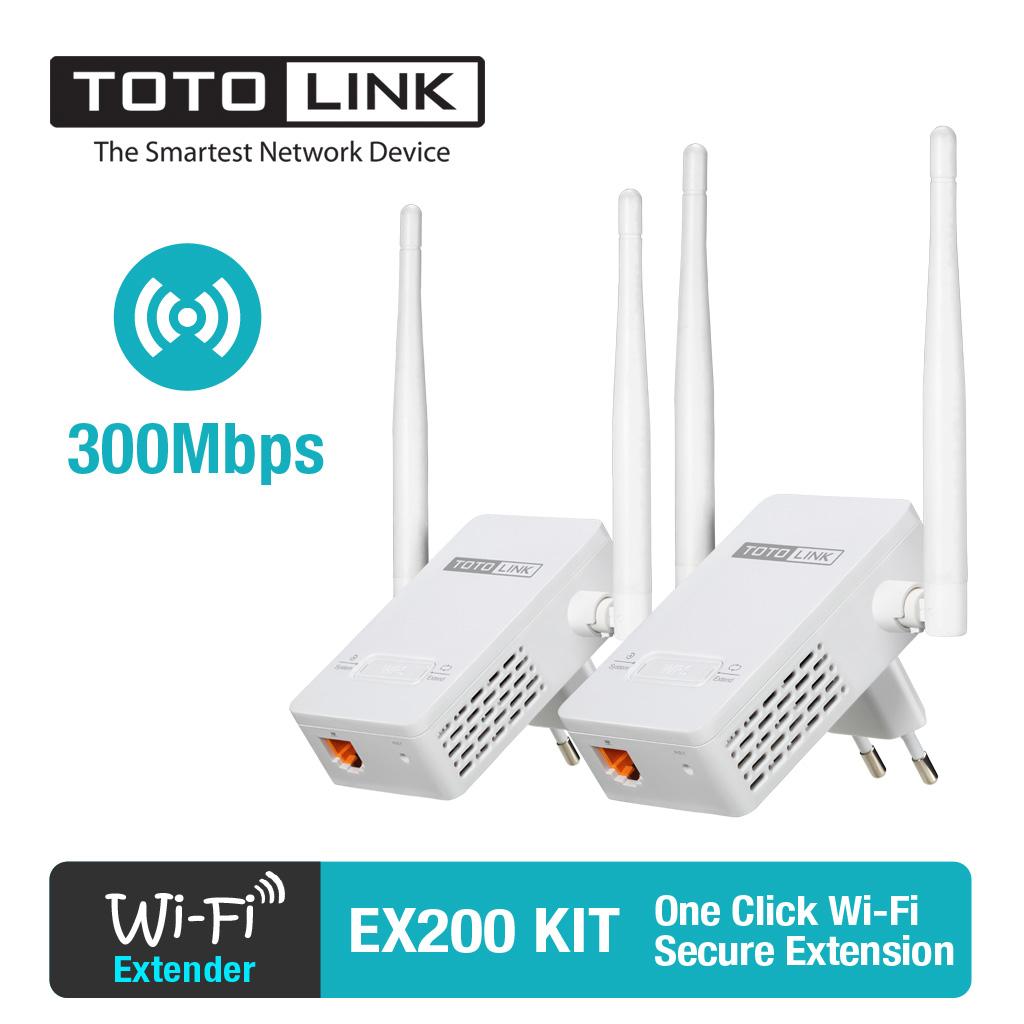 Kết quả hình ảnh cho kích sóng wifi totolink ex200