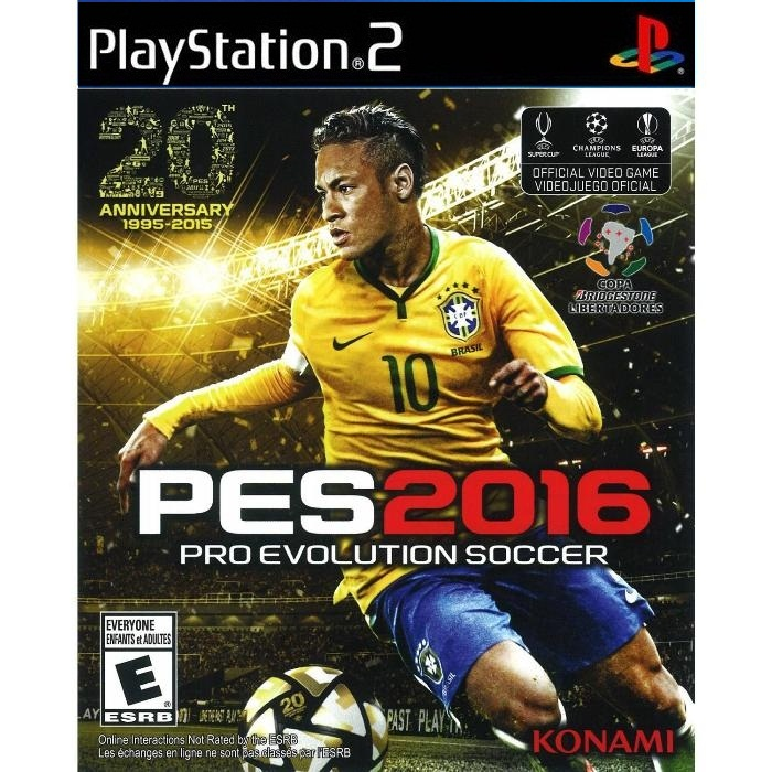PES 2016 - Game PS2