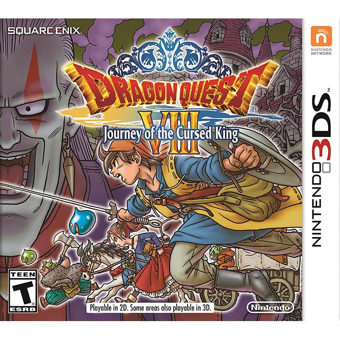 Dragon Quest VIII: Journey of the Cursed King--TẠM HẾT HÀNG