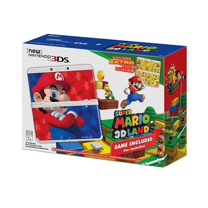 New Nintendo 3DS  Super Mario 3D Land Edition US