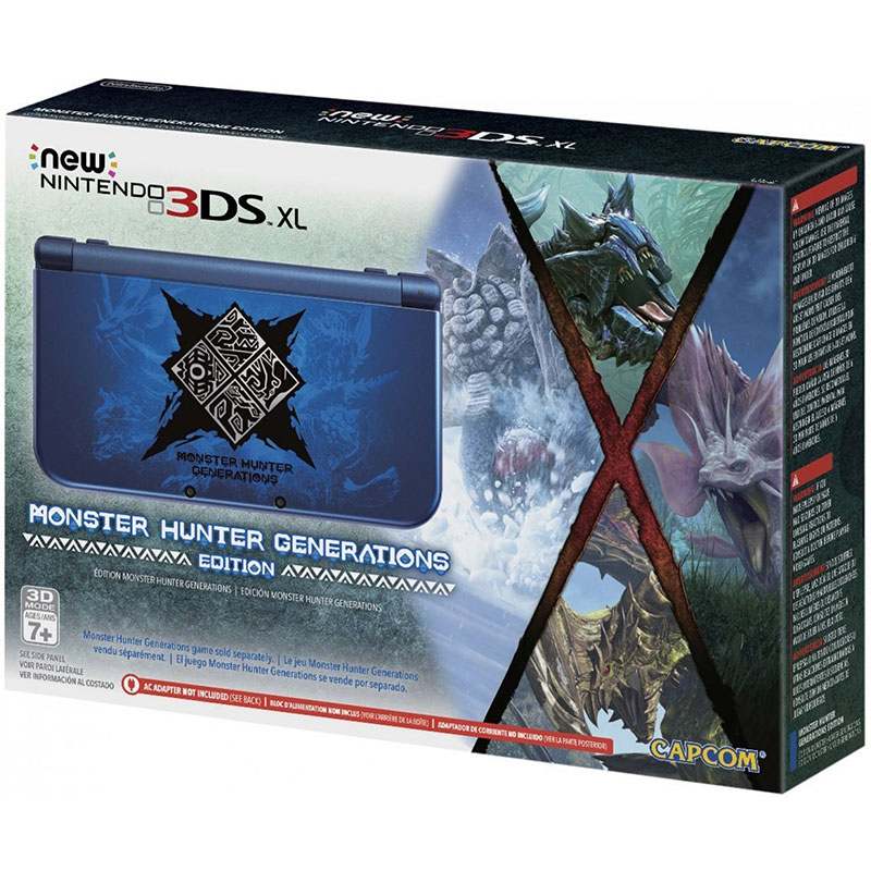 New 3DS XL - Monster Hunter Generations Edition