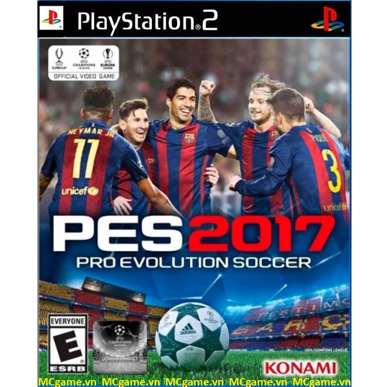 PES 2017 game PS2