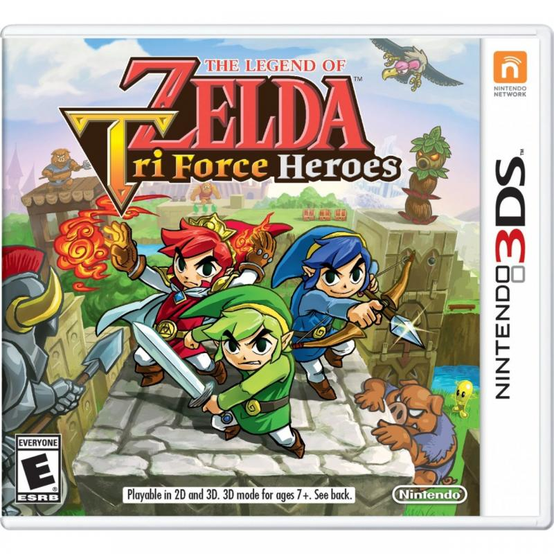 THE LEGEND OF ZELDA: TRI FORCE HEROES--HẾT HÀNG