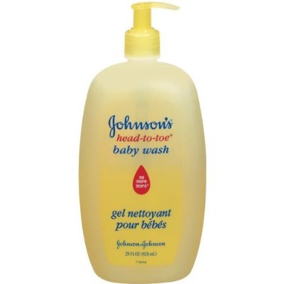 Gohnson's baby head to toe baby wash