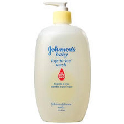 Gohnson's baby top to toe wash