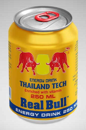 Real Bull energy drink