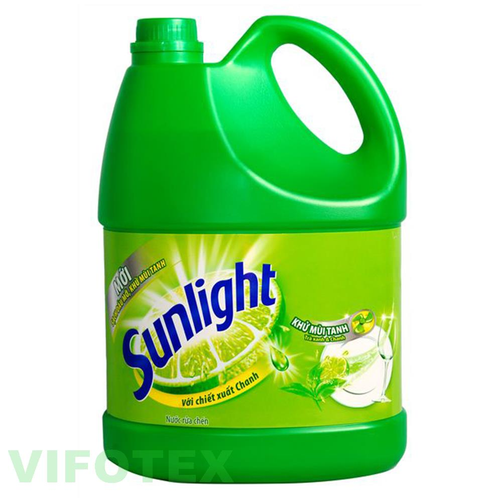 Dish wash liquid Sunlight lemon