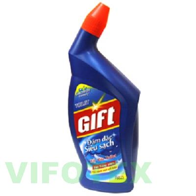 Gift toilet bleach