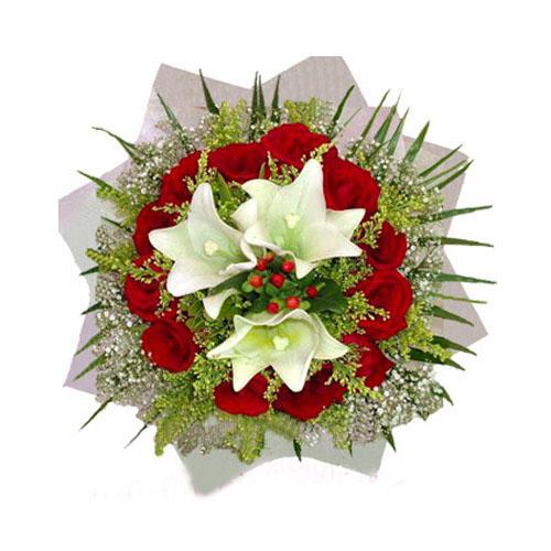 Quà tặng Giáng sinh hoa tươi