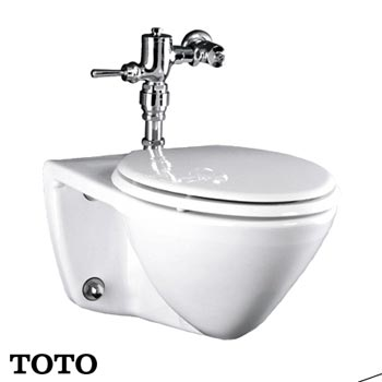 Bồn cầu treo tường TOTO CW708 (Made in Indonesia)