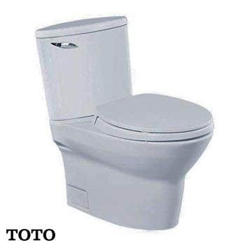 Bồn cầu 2 khối TOTO CW804W/F (Made in Japan)