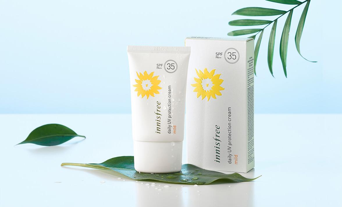 innisfree daily uv protection cream mild 1