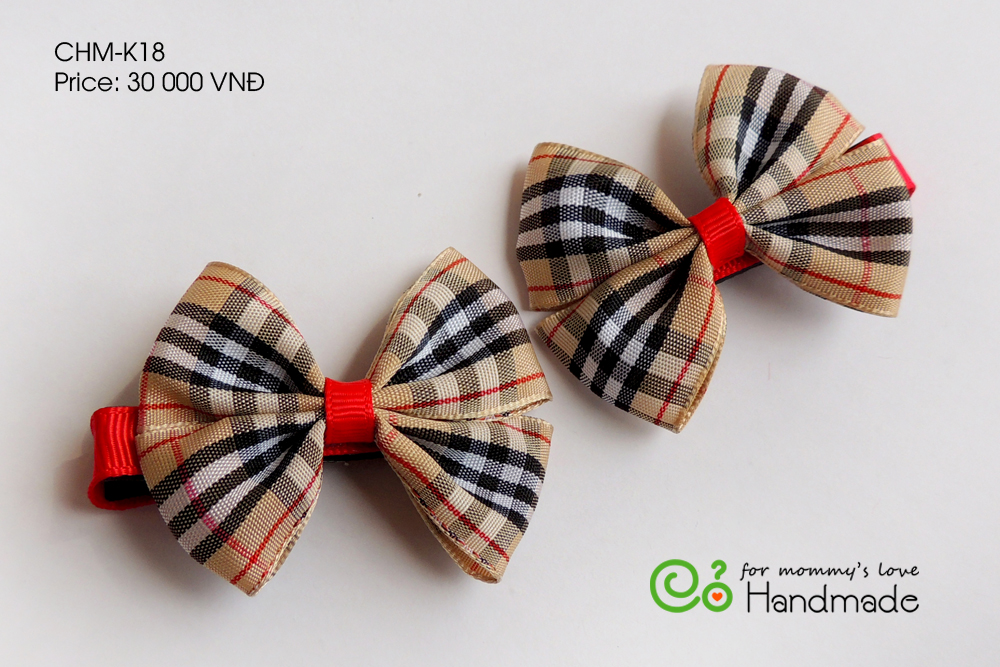 Bow pin for girls