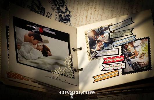 Làm scrapbook cưới