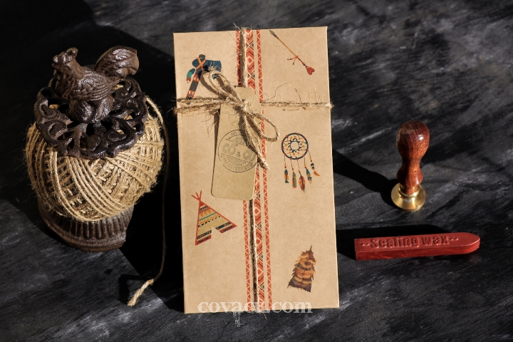 Thiệp handmade vintage