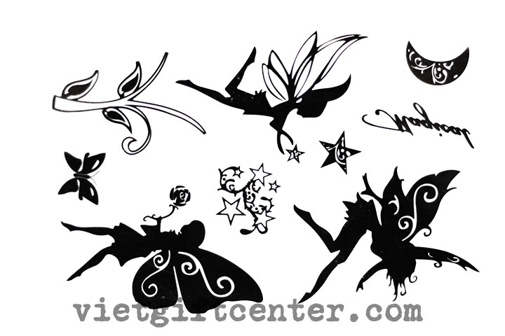 Con dấu Clear Stamp Fairy