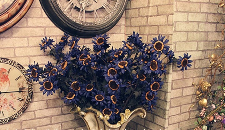 Hoa hướng dương vintage