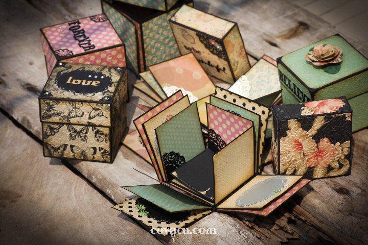 Bán giấy là thiệp handmade