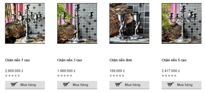 Mua chân nến trang trí nghệ thuật giá rẻ ở đâu ở tại tphcm, Hà Nội, Đà Nẵng
