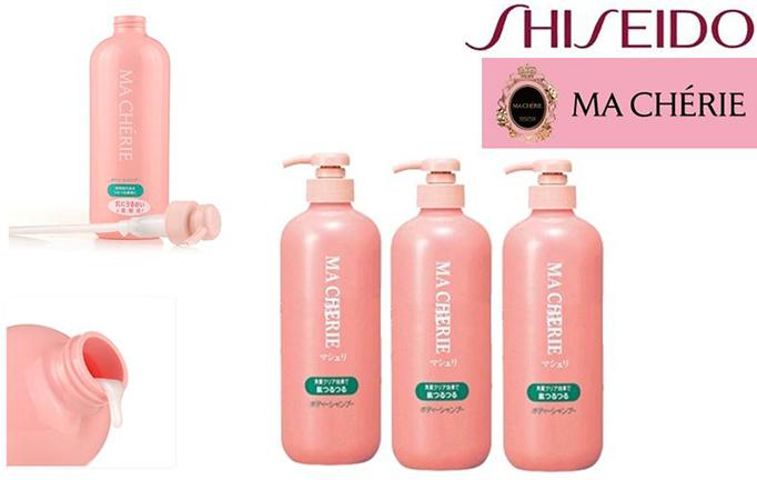 Image result for sữa tắm Shiseido ma Cherie cho mẹ sau sinh