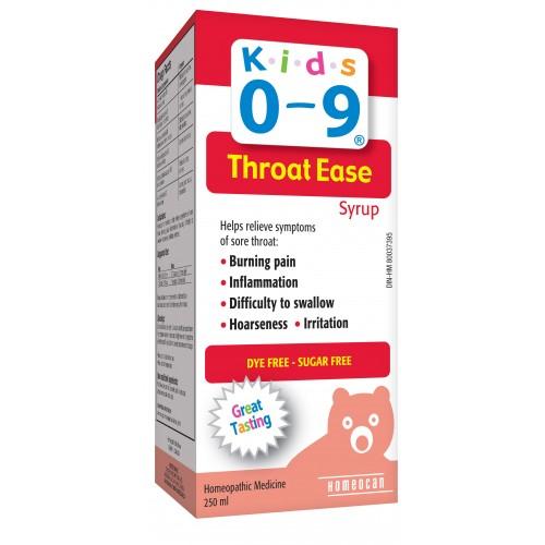 Siro chưa viêm, đau họng, ho cho bé từ 0-9 tuổi