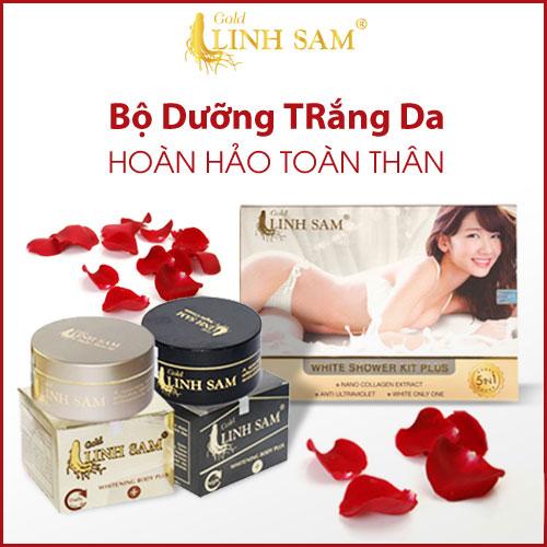Kem dưỡng trắng da chống nắng của Gold Linh Sam