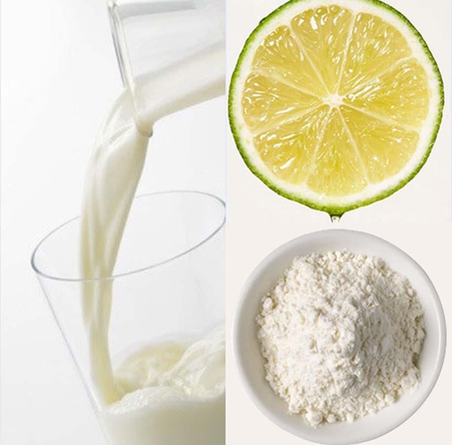 Sữa tươi dưỡng trắng da rất tốt