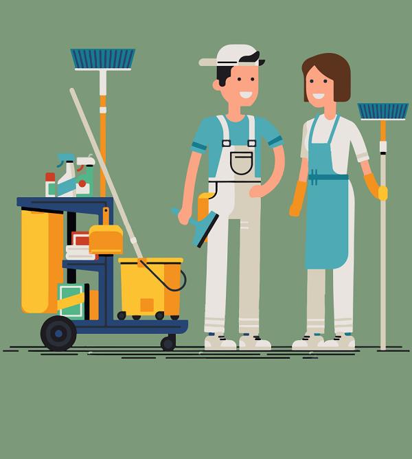 Dịch vụ vệ sinh chuyên nghiệp - Vệ sinh công nghiệp 5s