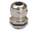 NIKEL PLATED BRASS GLAND-IP 68 RATING-PG THREAD