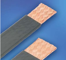 FLEXIBLE PVC EXTRUDED FLAT COPPER BRAID