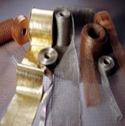 WIRE MESH - FLAT KNITTED, TUBULAR KNITTED, WOVEN RIBBONS, FARIC TAPS