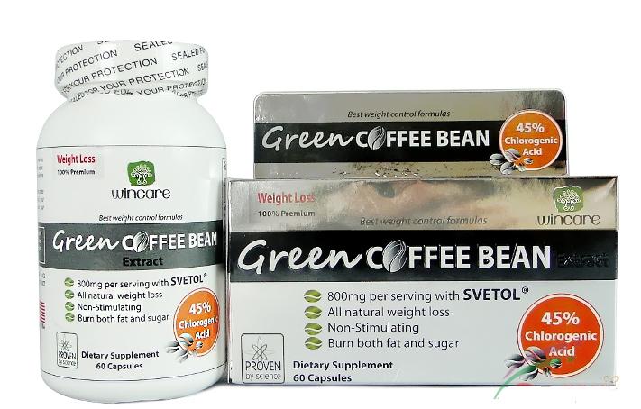 Thuốc giảm cân Cà Phê Xanh (Green Coffee Bean Extract)
