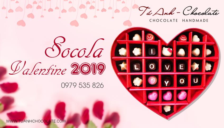 Bán buôn socola valentine 2018 giá rẻ