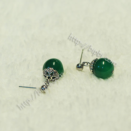 ER002 - Handmade gemstone earrings