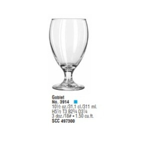 Teardrop  Goblet 311ml - Mã SP : 3914