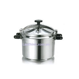 Commercial pressure cooker, aluminium, 7 modules, 11 - 75 lt