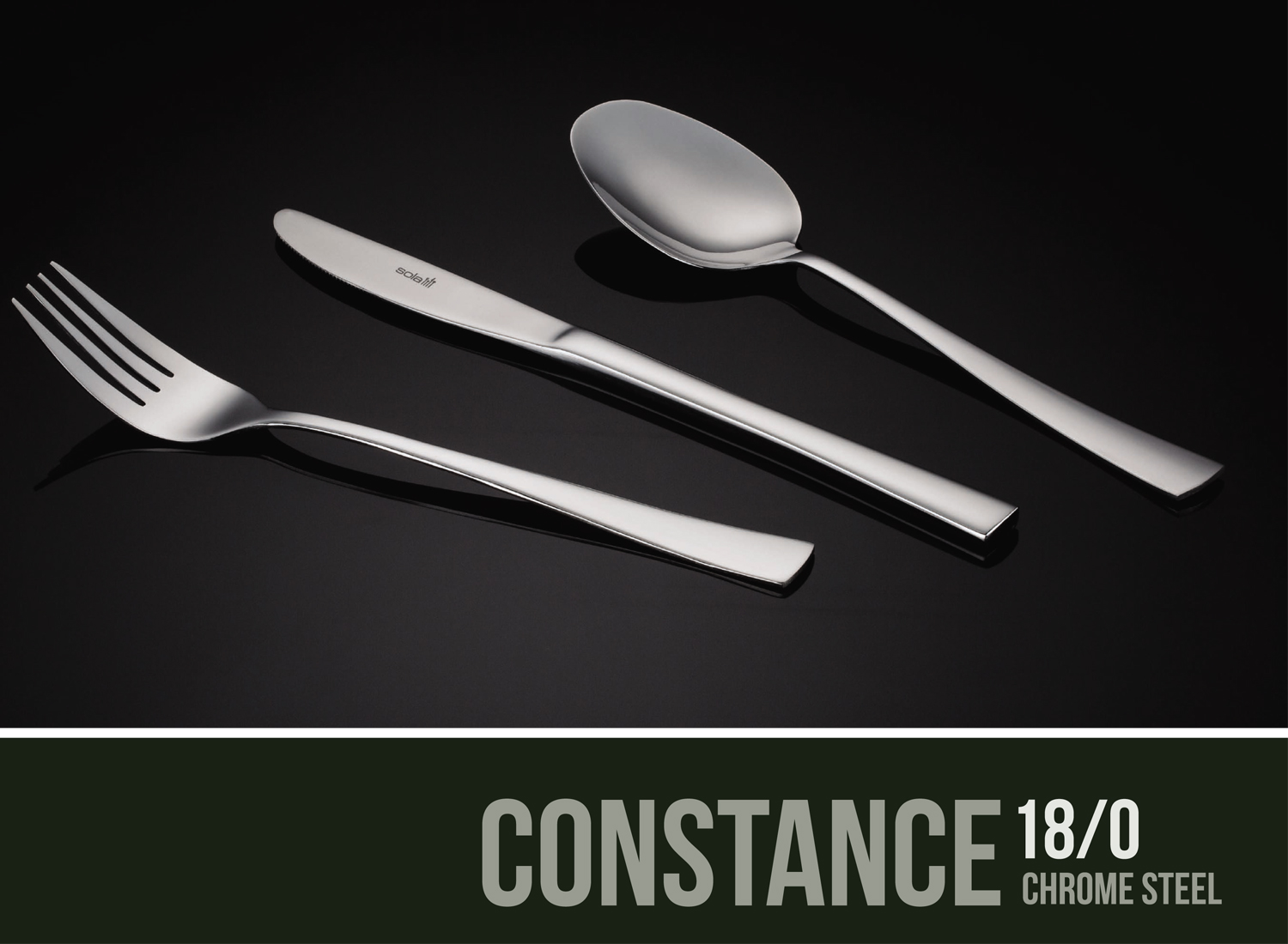 Constance Chrome Steel