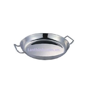 French paella pan,s-s, 2 sizes: dim 36cm - 40cm