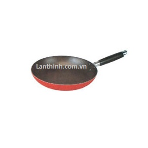 Fry pan, non stick,red, 7 sizes, dim 18 - 32cm