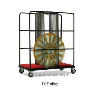 Lazy Susan Trolley