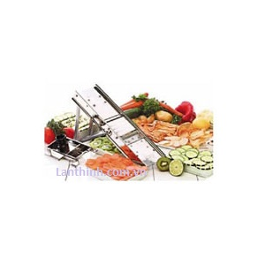 Mandoline slicer with 3 blades,  SS, MSL-125