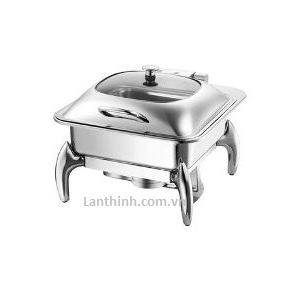 Rectangular Induction chafing dish/Glass Lid TMZ-1205+1205J