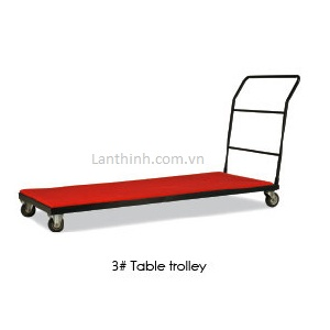 Rectangular Table Trolley