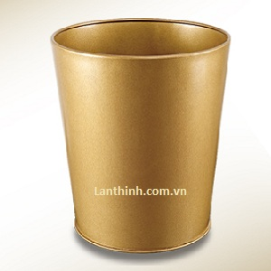Room dustbin, Dark beige color panited steel body, 3240333