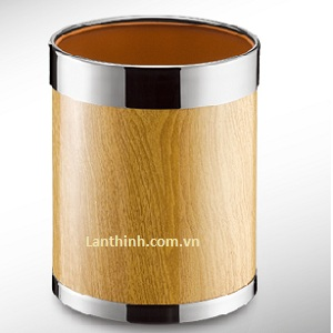 Room dustbin, Simplicity Ring-up design  Steel body wooden finish, 3220146
