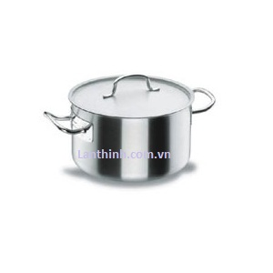 Sauce pot with lid, SS, 8 sizes: 14 - 113 lt