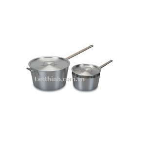 Saucepan with lid, aluminium, 5 sizes:  2.7 - 10 lt