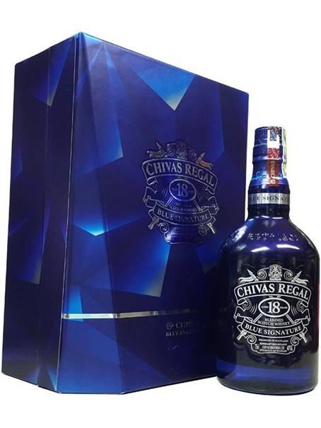 Địa chỉ thu mua rượu ngoại, rượu Chivas 18 Blue