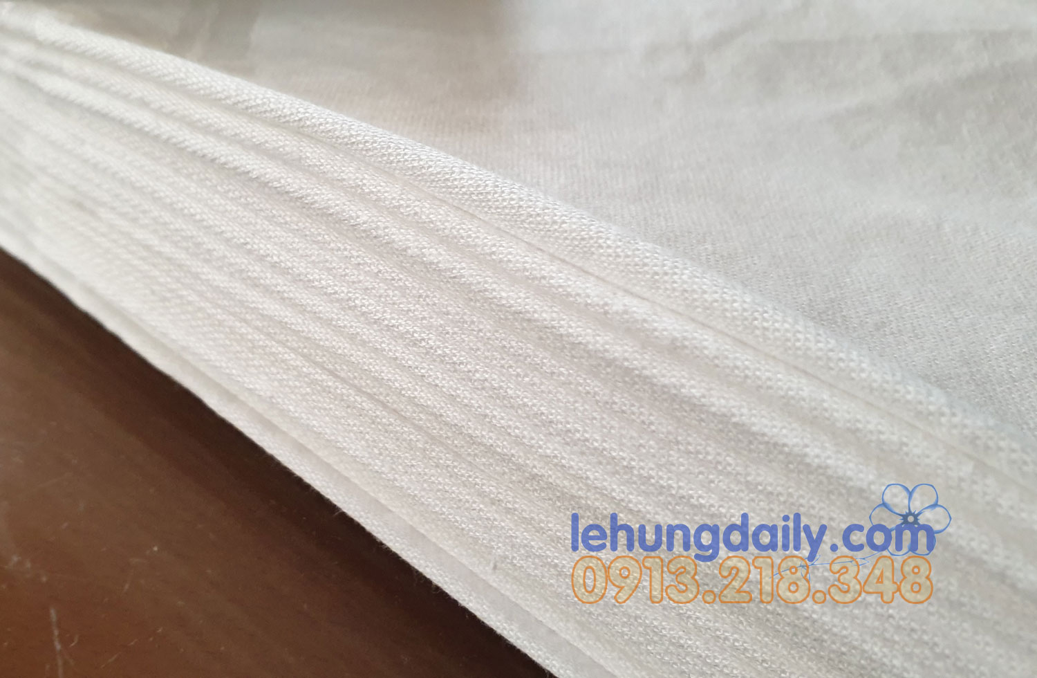 Khăn ăn Singapore Airlines cotton 100% (10c)