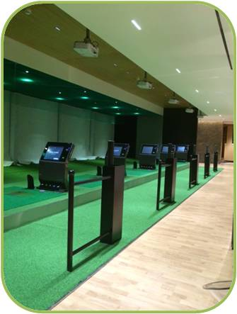 3D Room for Golf Course Practice  -  Lotte Center Hanoi